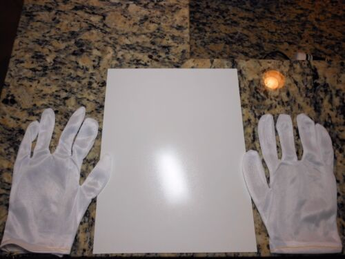 1 pair graphics production gloves! Inkjet vinyl//3M lam- 20 8.5in x 11in sheets