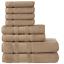 thumbnail 16 - Towel Set 8 Piece Set Bath Towel Hand Towel Washcloth Also in Lot Qute Towels