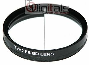 77mm Split Field Two Field Special Effects Lens Filter Two Depth Of View 77 mm
