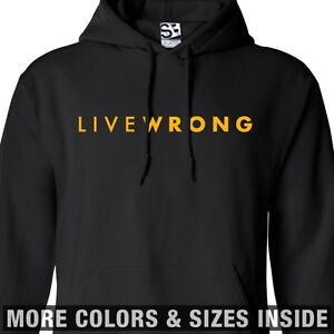 LiveWrong-HOODIE-Hooded-Cheat-Strong-Live-Wrong-LiveStrong-Lance-Sweatshirt