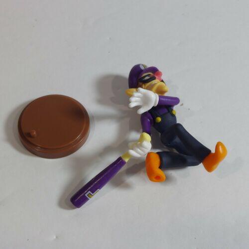 "2016 Super Mario Sports 2/"" Waluigi Baseball Chocolate Egg Figure Gashapon"