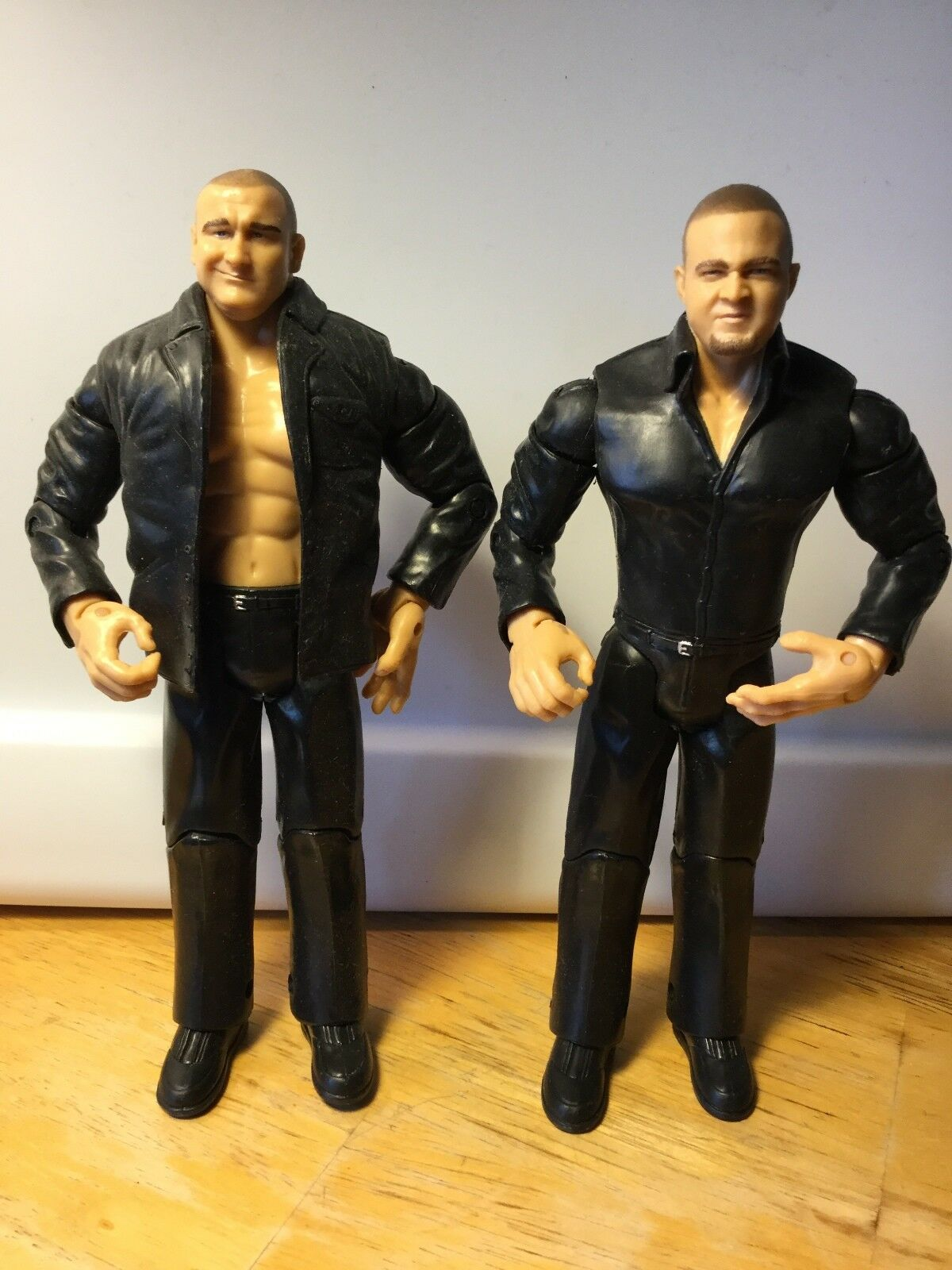 GYMINI JAKE & JESSE JAKKS WWE RUTHLESS AGGRESSION  FIGURES