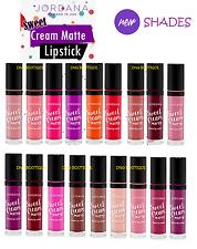 18 full set JORDANA SWEET CREAM MATTE LIQUID LIP gloss LIPSTICK lipgloss la girl