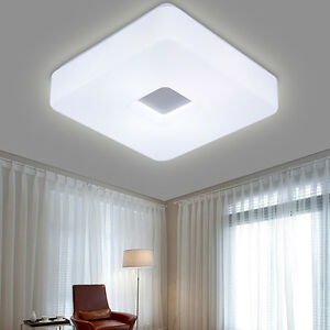 Modern Square Acrylic LED Flush Mount Ceiling Bedroom