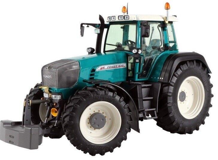 WEI2047 - Tracteur FENDT 930 de couleur Bleu Pétrol  - 1 32