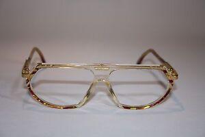 Cazal-344-Col-715-57-12-Damenbrille-Vintage-Lunettes-Eyeglasses