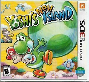 Yoshi's New Island ( Nintendo 3DS ) world edition.