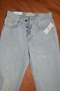 Image is loading Womens-Denim-Jeans-PACSUN-Vintage-Icon-Ripped-Faded- 9602f8d173