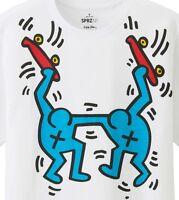 Keith Haring X Uniqlo 'skateboarders' Sprz Ny Art T-shirt Small White