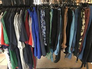 New Mens Wholesale Job Lot Bundle Rail Of Mixed Clothes Ebay Car Boot 20 Items Ebay