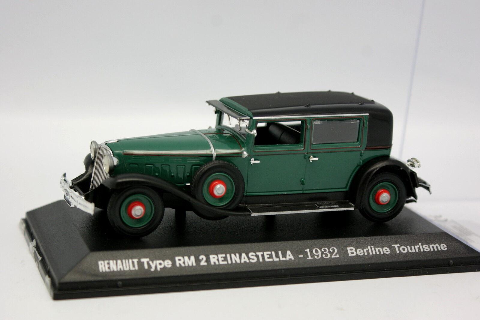 Norev Press 1 43 - Renault RM2 RM2 RM2 Reinastella 1932 Green f1318c