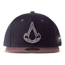 Assassin S Creed Valhalla Metal Badge Men Cap Black 85 Polyacrylic 15 For Sale Online Ebay
