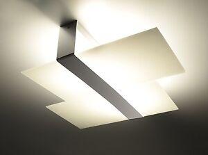 Massimo 2x e 27 modern glas deckenleuchte deckenlampe - Deckenlampe arbeitszimmer ...