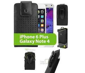 For-iPhone-6-Plus-amp-Galaxy-Note-3-4-amp-Edge-Leather-Case-Holster-Rotating-Clip