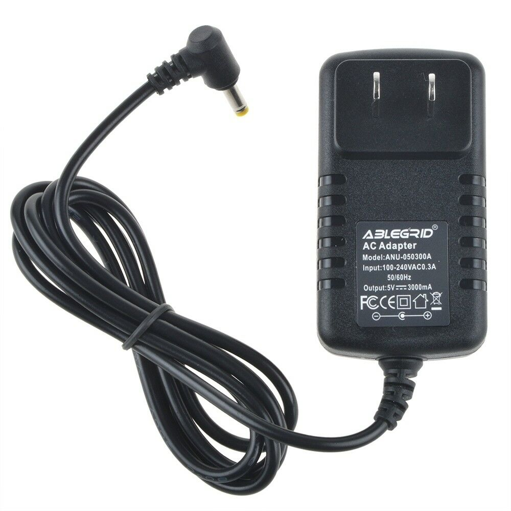 5V 3A AC Wall Power Adapter W/ 4.0mm Cord for Wireless Video Surveillance System