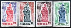 Viet Nam South 193-196, MNH. Catholic shrine of the Madonna of Vang, 1962