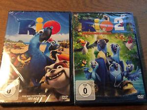 Rio 1 / Rio 2 - Dschungelfieber [2 DVD]   NEU OVP