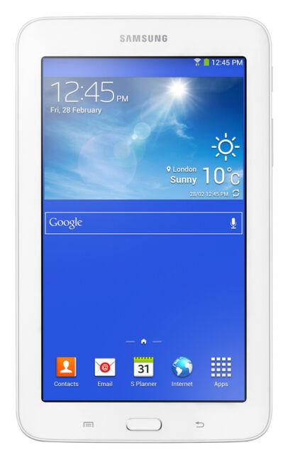 Samsung Galaxy Tab 3 Lite Sm T110 8gb Wi Fi 7in White For Sale Online Ebay