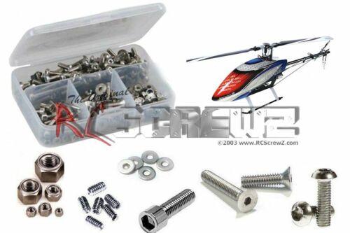 RCScrewZ Align 550L Dominator Stainless Steel Screw Kit alg027