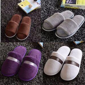Women-Men-Plush-Winter-Warm-Slipper-Home-House-Floor-Indoor-Hotel-Fleece-Shoes