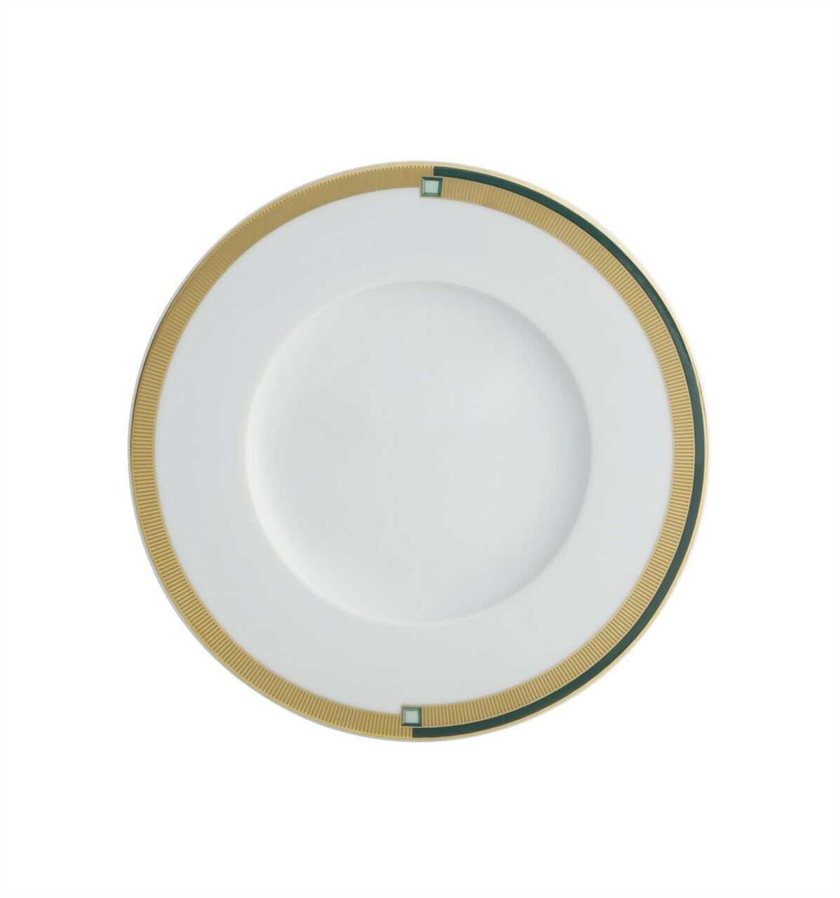 Vista Alegre Emerald Bread & Butter Plate-Lot de 8