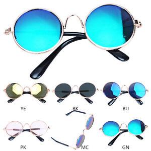 324d27baeb7f Image is loading Fashion-Pet-Cat-Sunglasses-Cool-Funny-Metal-Glasses-.  Image not ...