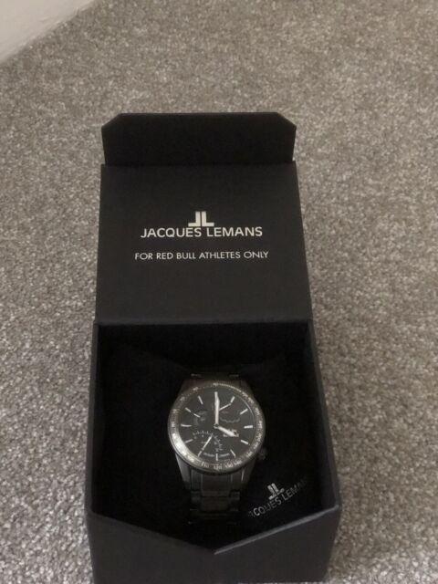 Rare Vintage Jacques Lemans 25 Jewel Automatic Mens Watch Eta 2824 2 For Sale Online Ebay
