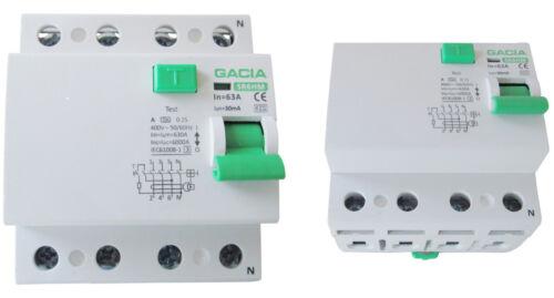 Fehlerstromschutzschalter SR6HM 4P 40A/30mA A  FI Schalter Schutzschalter