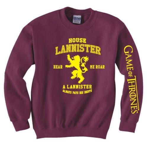 "GAME OF THRONES /""Casa Lannister/"" Felpa"