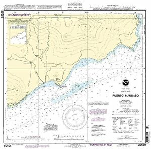 NOAA Chart Puerto Maunabo 9th Edition 25659