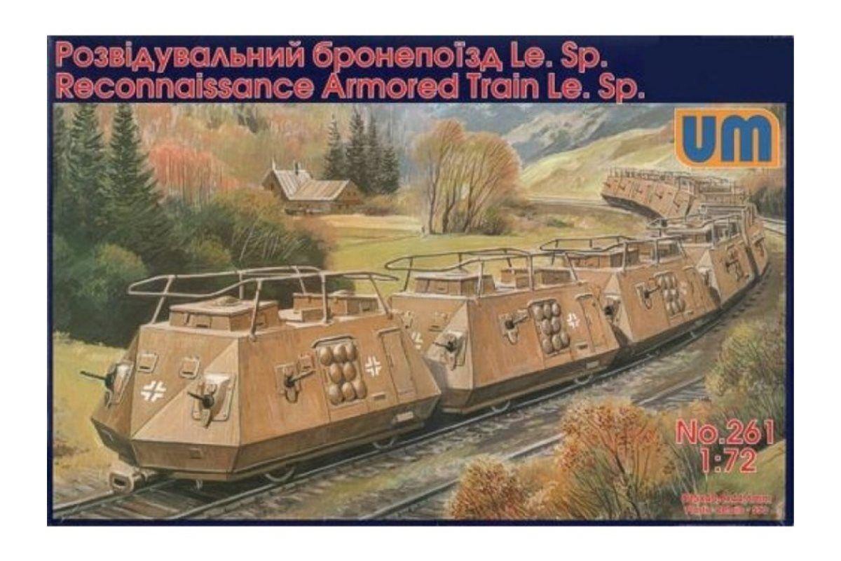 UNIMODELS 261 1 72 Reconnaissance armGoldt train Le.Sp