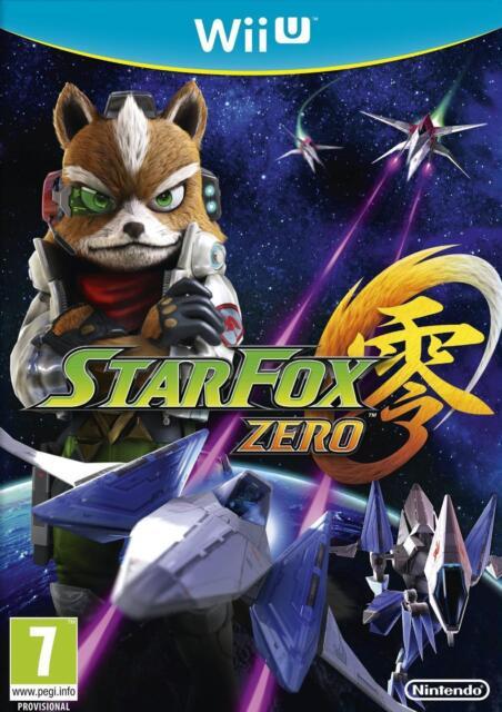 Star Fox Zero (Wii U) (New) - (Free Postage)