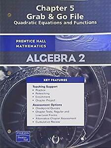 s-l300 Alge Chapter Quadratic Equations And Functions Answers on