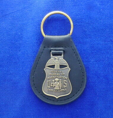 2 POLICE LANYARDS Key Ring Holder ICE FBI DHS DEA ID Card Police ATF