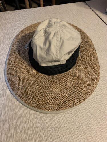 Columbia Women's S/M Wide Brim Cotton/Straw Garden