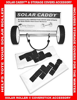 Solar Roller ® Accessory SRCAD01 SOLAR CADDY™ and Storage Covers