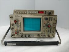 Tektronix 475a Oscilloscope 250mhz Dual Channel Analog Oscilloscope With Probes