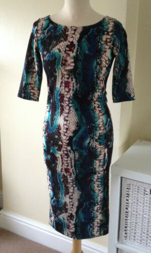 Snake print Bodycon Dress  By John Zack
