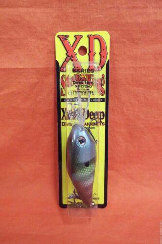 Strike King Series 6XD Xtra-Deep Diving Crankbait #HC6XD-651 Neon Crapet Arlequin