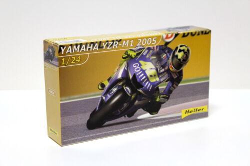 1:24 Heller YAMAHA yzr-m1 VALENTINO ROSSI 2005 KIT NEW in Premium MODELCARS