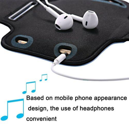Armband Case Sports Gym Running Jogging Exercise Arm Band Phone Holder Key Bag