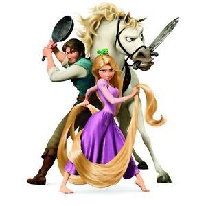 Disney-Princess-TANGLED-Iron-On-T-Shirt-Pillowcase-Fabric-Transfer-DT01