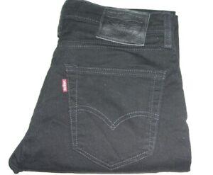 Mens Levi's 511 Slim Fit Black (1540) Stretch Denim Jeans W32 L32