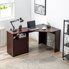 New L Shaped Computer Desk Corner Pc Laptop Gaming Table Home Office Workstation