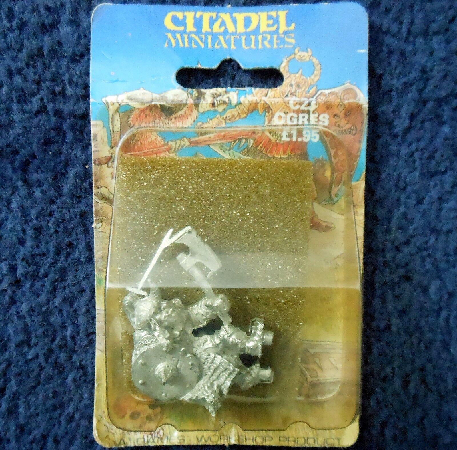 1985 Orco Gigante Oriental c23 WARHAMMER ogor Regni Games Workshop Oni AD&D Nuovo di zecca con scatola