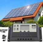 10A 12V 24V Solar Panels Battery Charge Controller 10Amps lamp Regulator AU