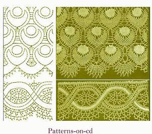 63-Bobbin-Lace-making-patterns-ca-1913-Russian-CD