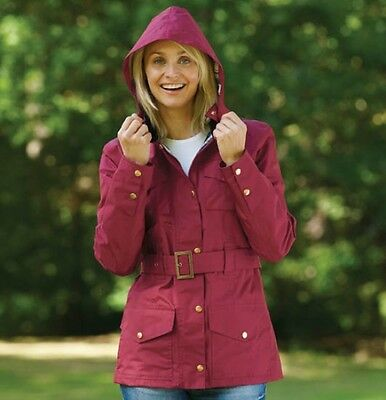 Free UK P/&P Scarlet Champion Ladies Hythe Quilted Belted Country Jacket