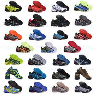 Neu-Salomon-Speedcross-3-Herren-Outdoor-Hiking-Laufschuhe-Cross-Schuhe-EUR40-46