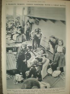 Photo-article-WWII-Convoy-passengers-watch-U-Boat-battle-1944-ref-AO
